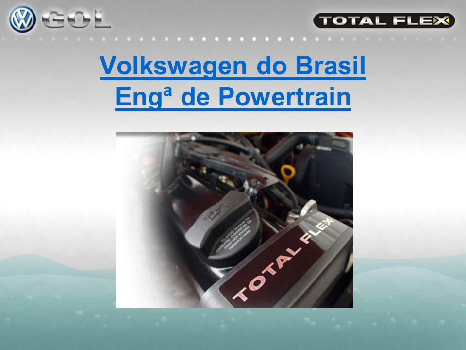 Volkswagen do Brasil Engª de Powertrain