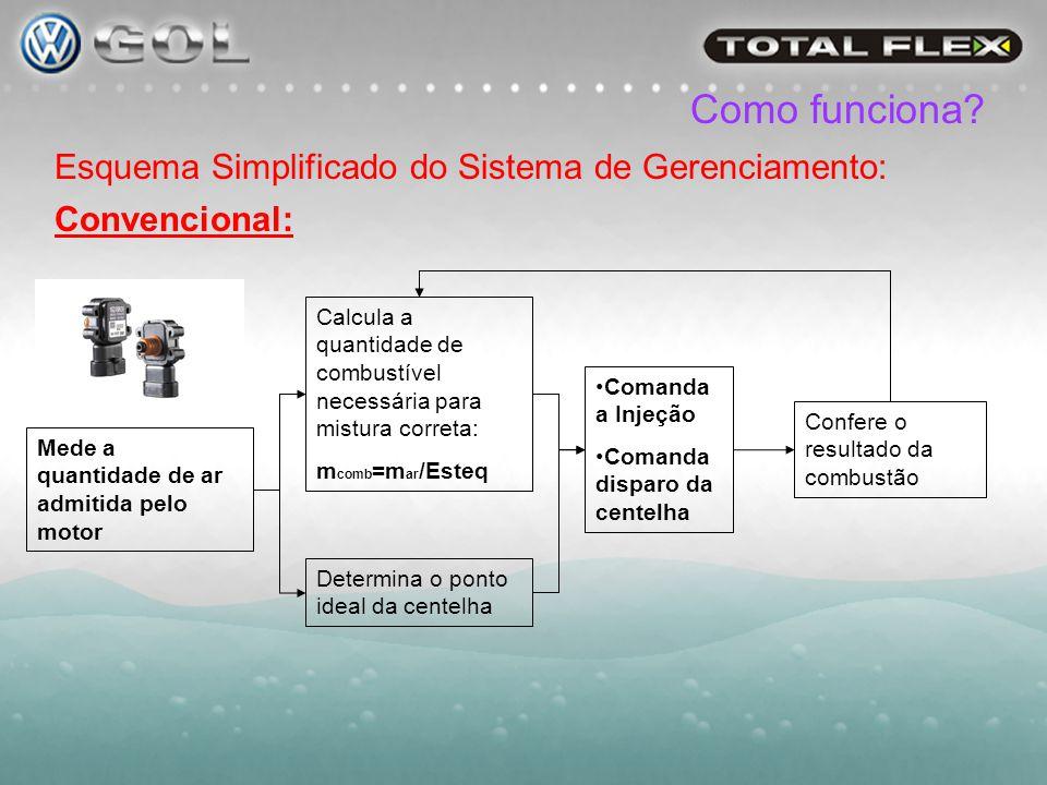 Como funciona Esquema Simplificado do Sistema de Gerenciamento: