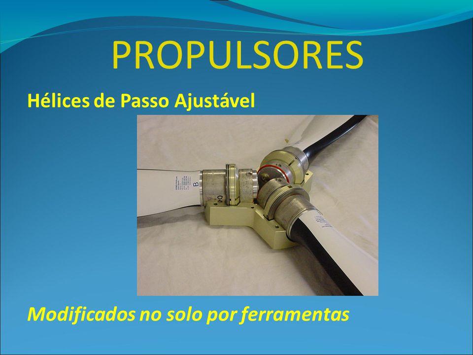 PROPULSORES Hélices de Passo Ajustável