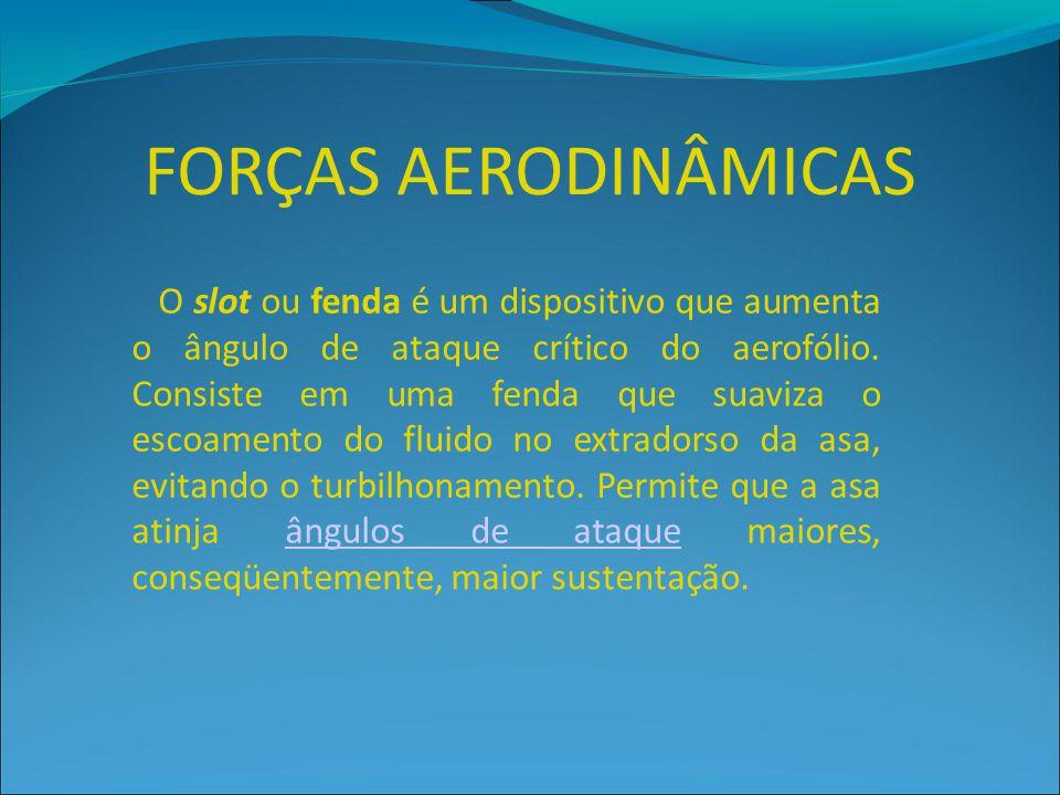 FORÇAS AERODINÂMICAS