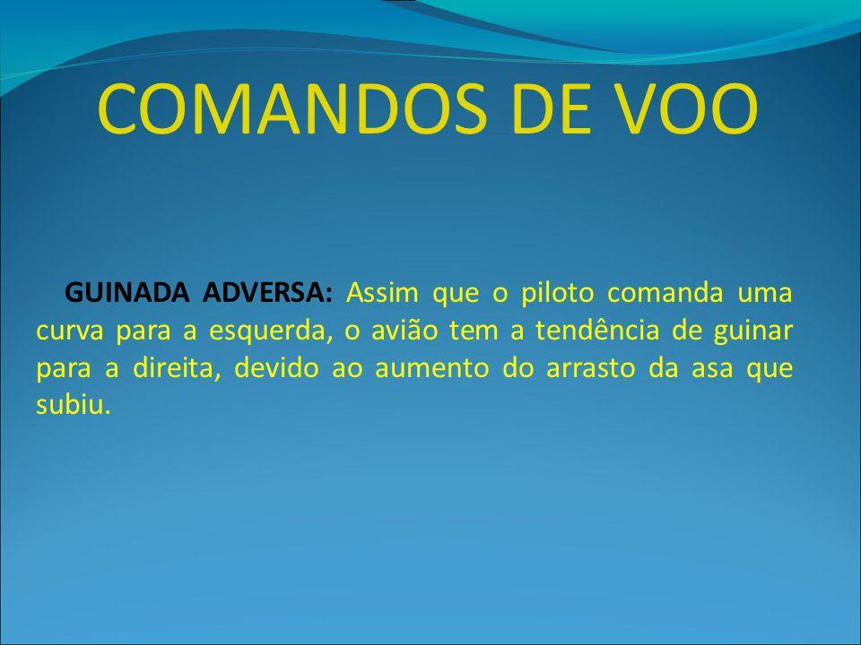 COMANDOS DE VOO