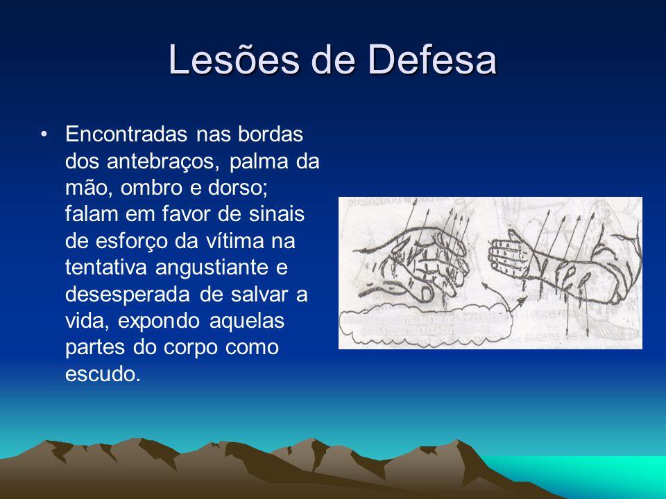 Lesões de Defesa