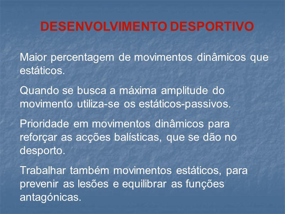 DESENVOLVIMENTO DESPORTIVO