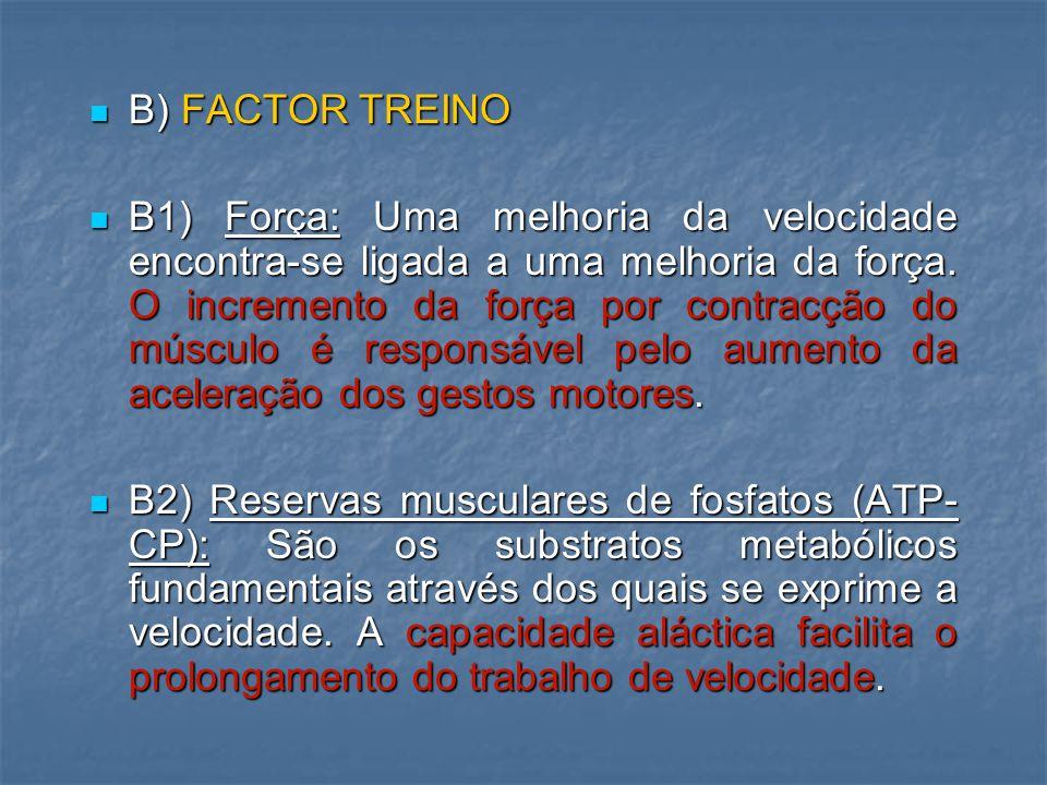 B) FACTOR TREINO
