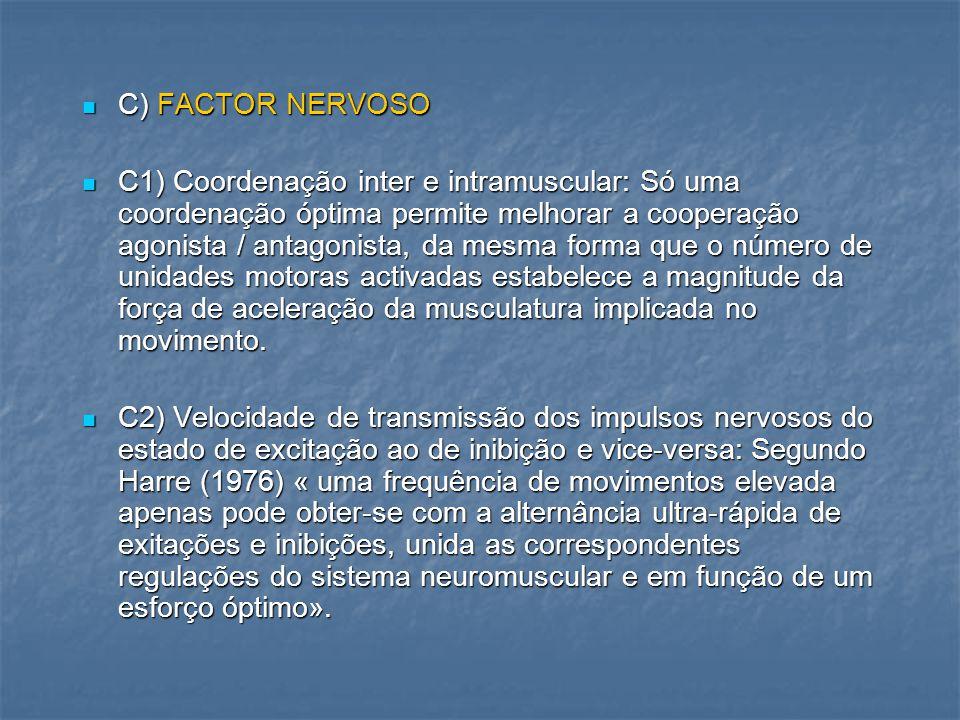 C) FACTOR NERVOSO