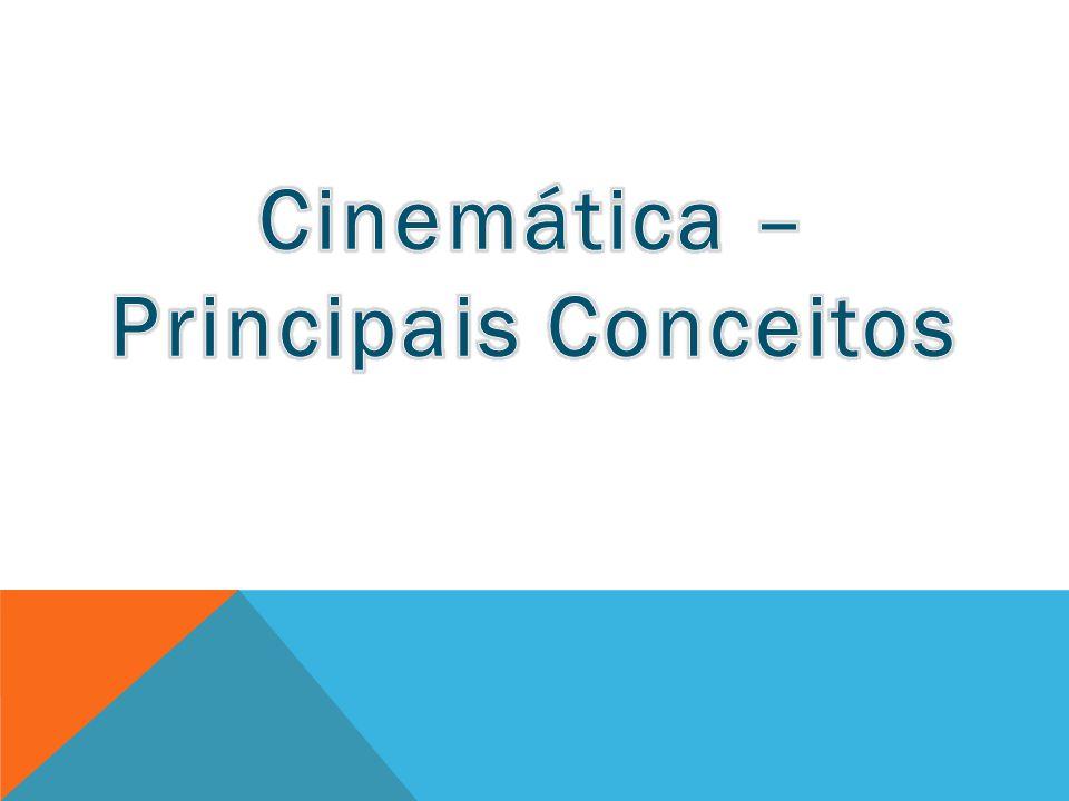 Cinemática – Principais Conceitos