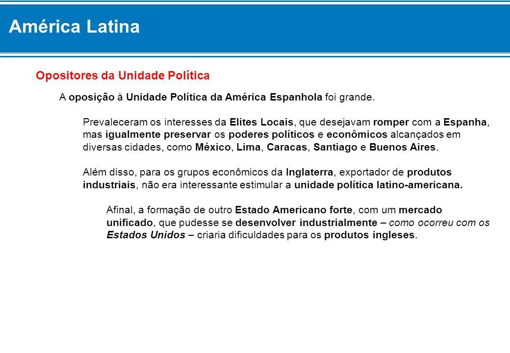 América Latina Opositores da Unidade Política