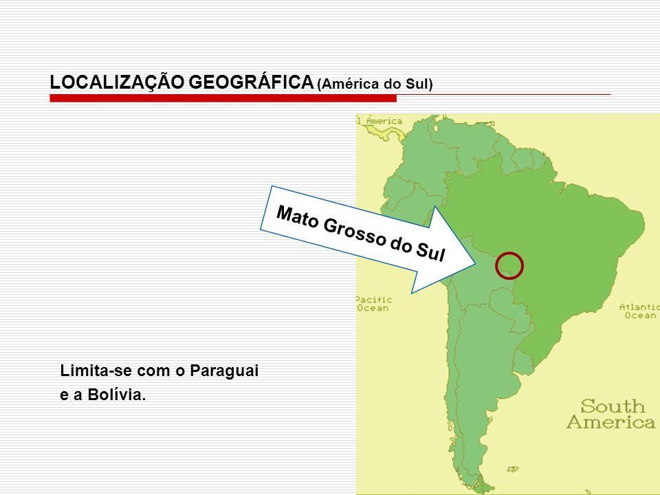 LOCALIZAÇÃO GEOGRÁFICA (América do Sul)