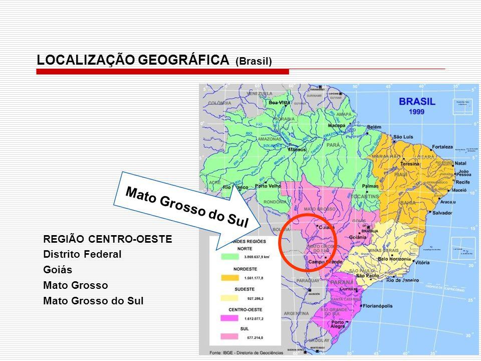 LOCALIZAÇÃO GEOGRÁFICA (Brasil)
