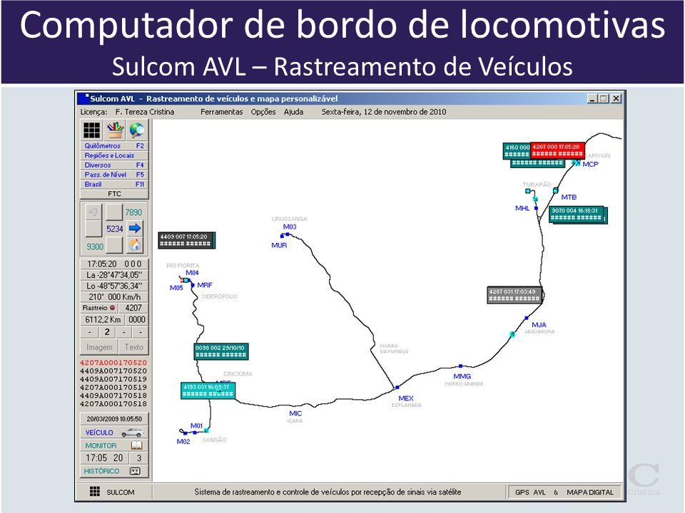 Computador de bordo de locomotivas