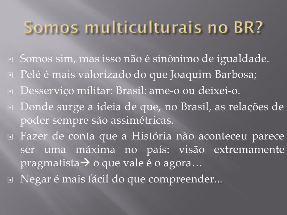 Somos multiculturais no BR