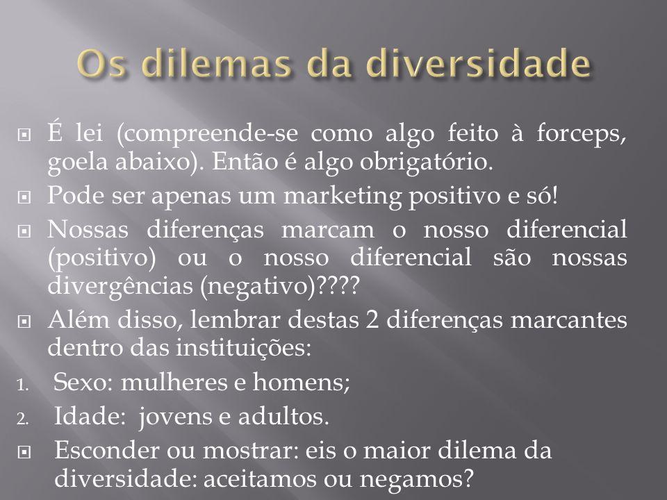 Os dilemas da diversidade