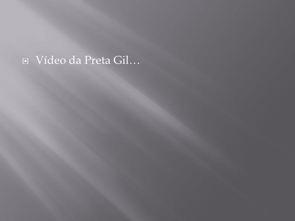 Vídeo da Preta Gil…
