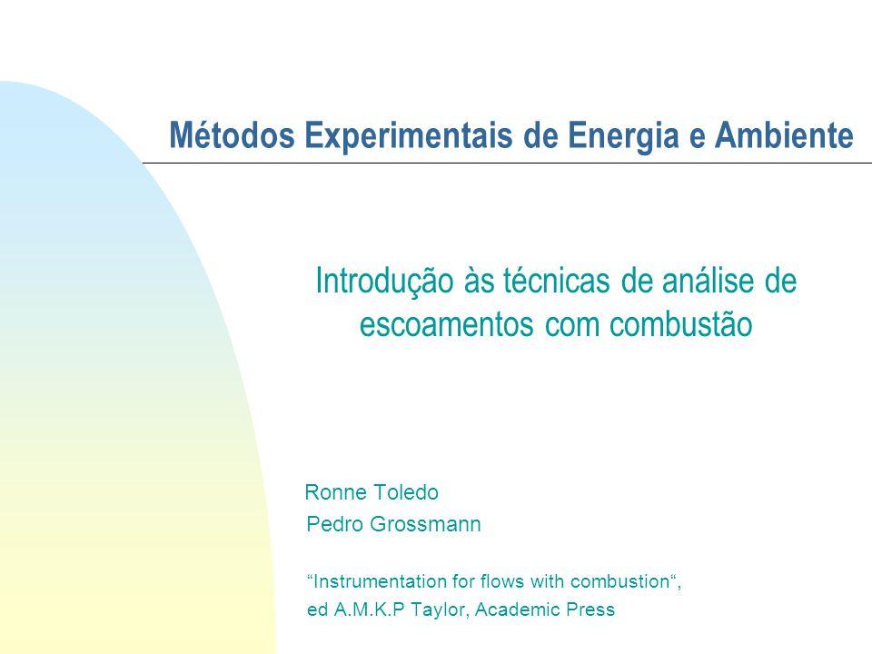 Métodos Experimentais de Energia e Ambiente
