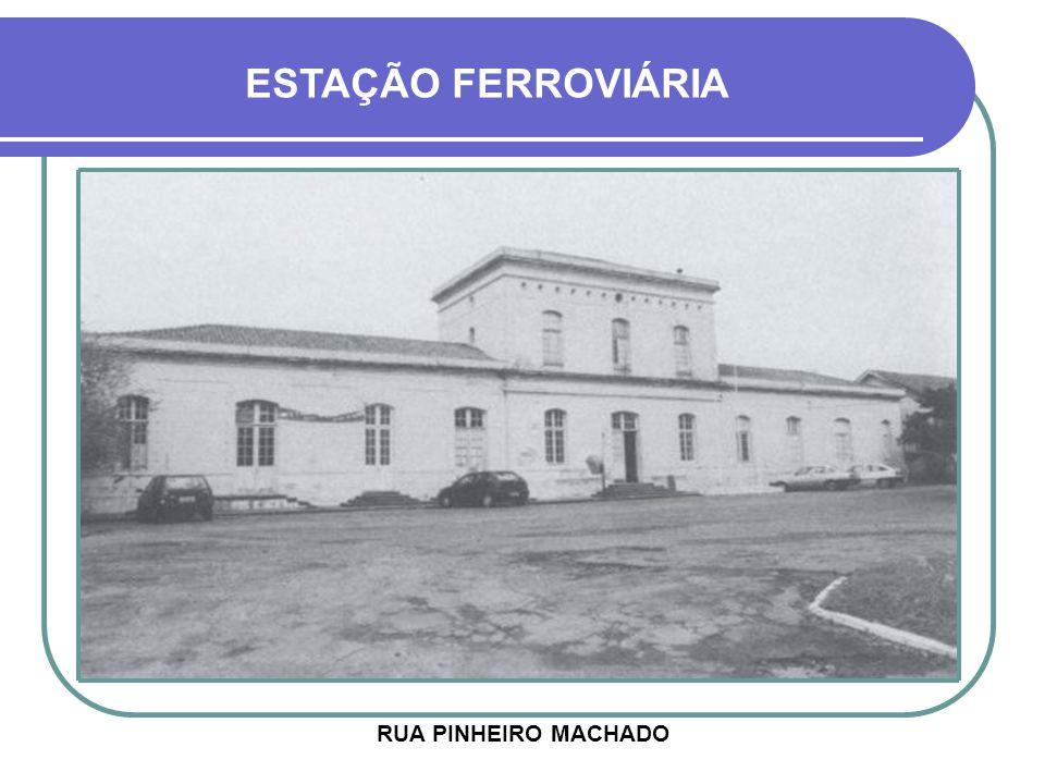 ESTAÇÃO FERROVIÁRIA RUA PINHEIRO MACHADO