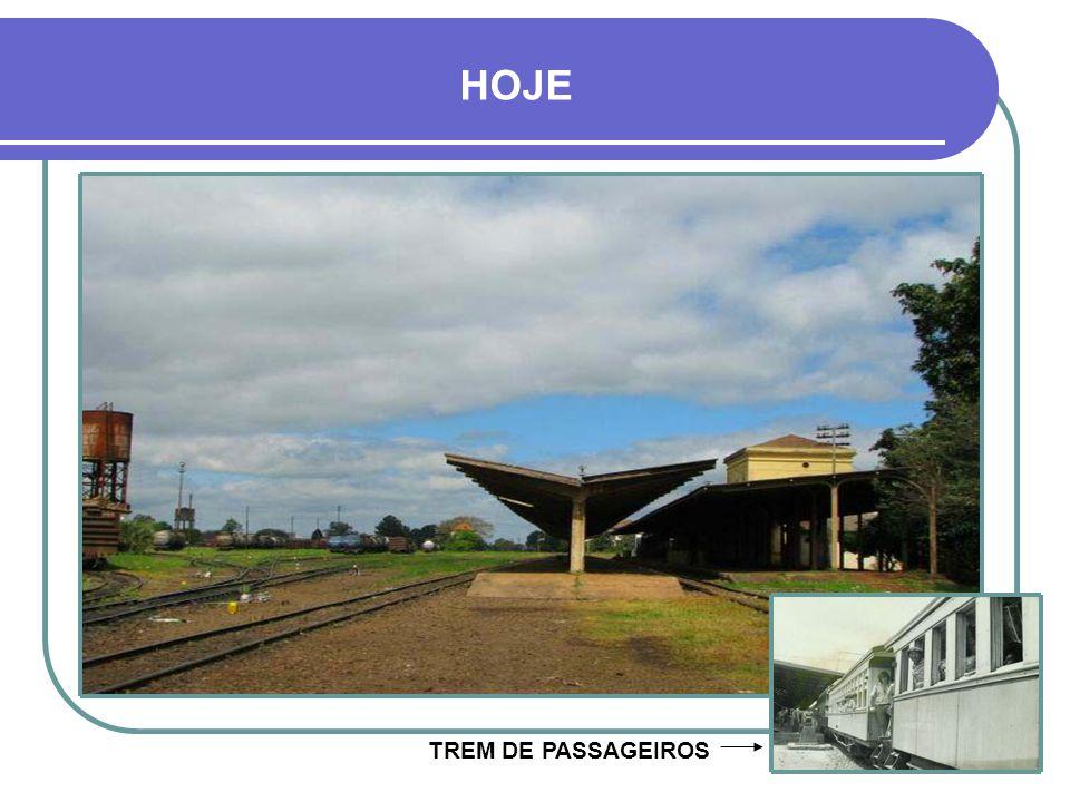 HOJE TREM DE PASSAGEIROS