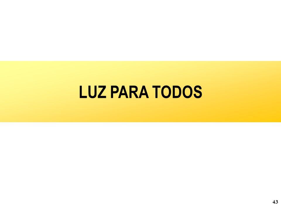 LUZ PARA TODOS