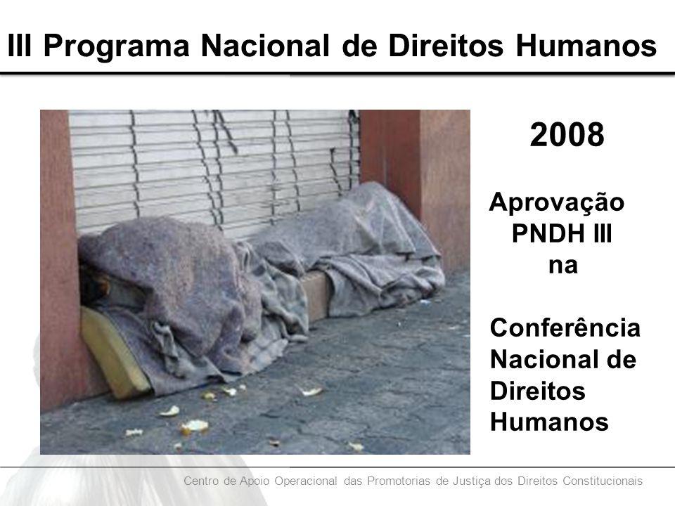 III Programa Nacional de Direitos Humanos
