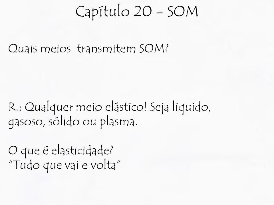 Capítulo 20 - SOM Quais meios transmitem SOM
