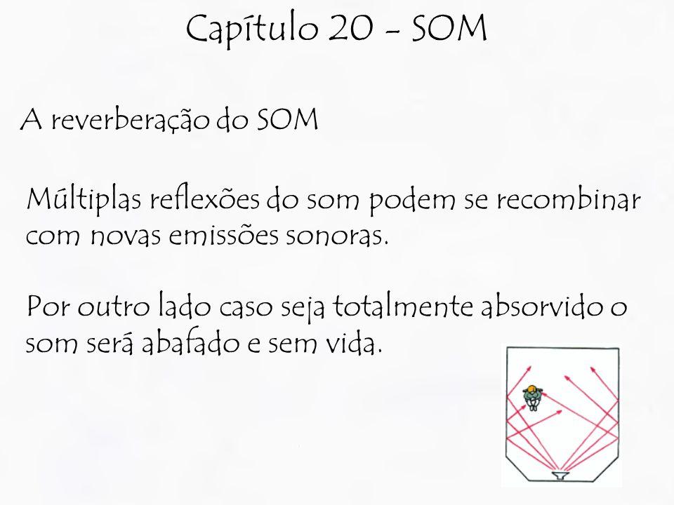 Capítulo 20 - SOM A reverberação do SOM