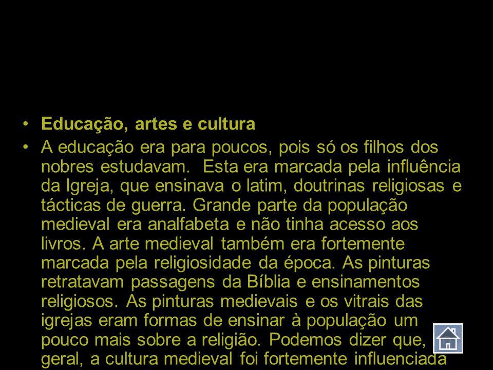 Idade Média Educação, artes e cultura