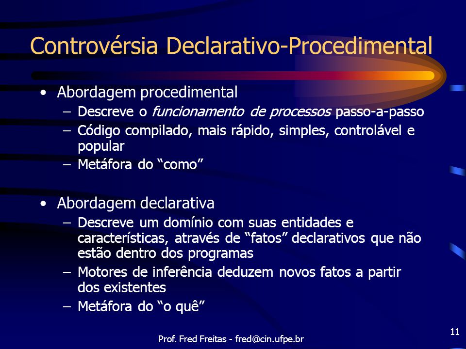 Controvérsia Declarativo-Procedimental
