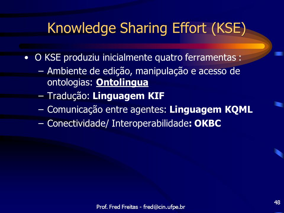 Knowledge Sharing Effort (KSE)