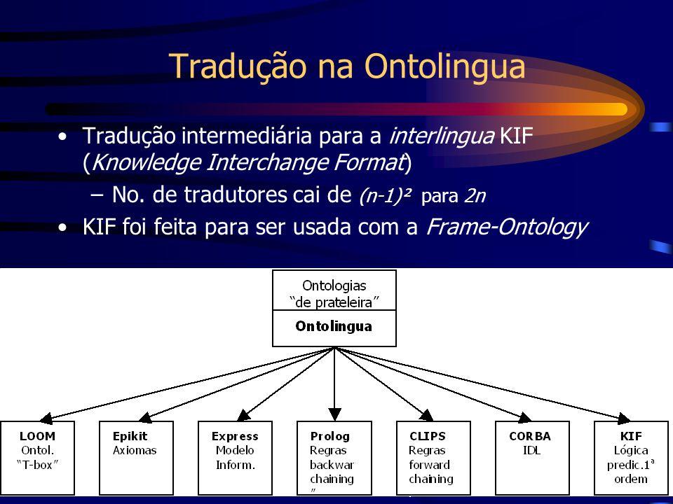 Tradução na Ontolingua