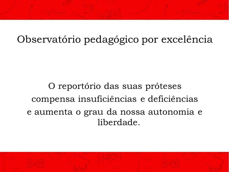 Observatório pedagógico por excelência