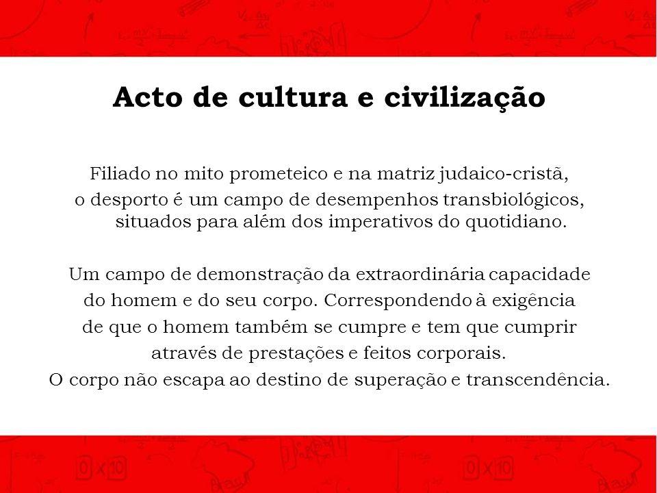 Acto de cultura e civilização