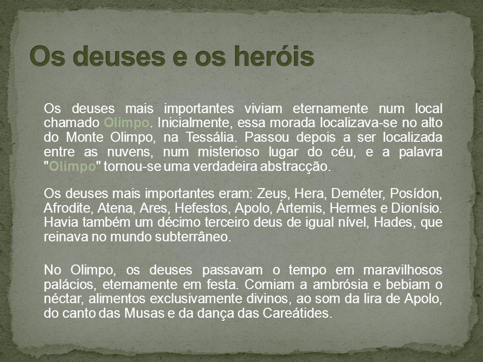 Os deuses e os heróis