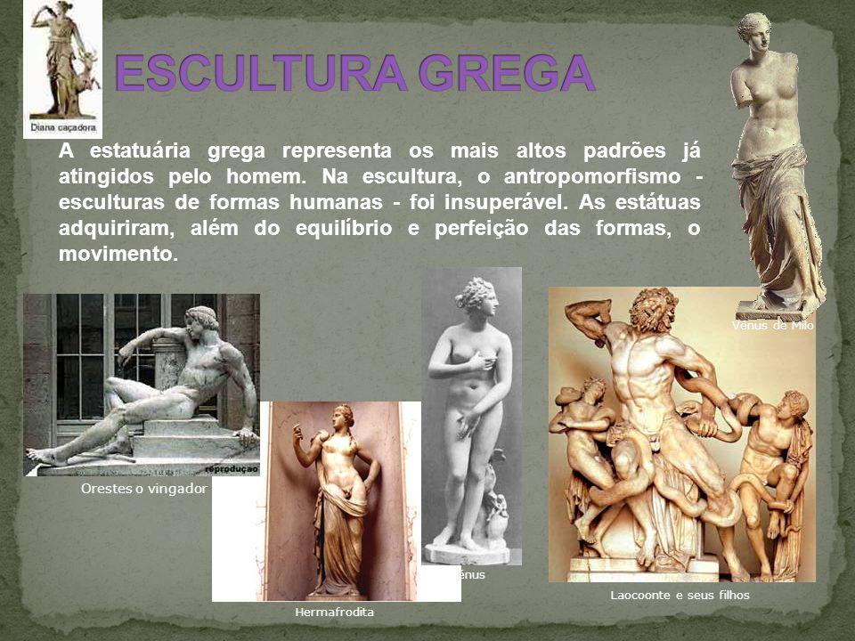 ESCULTURA GREGA Vénus de Milo.
