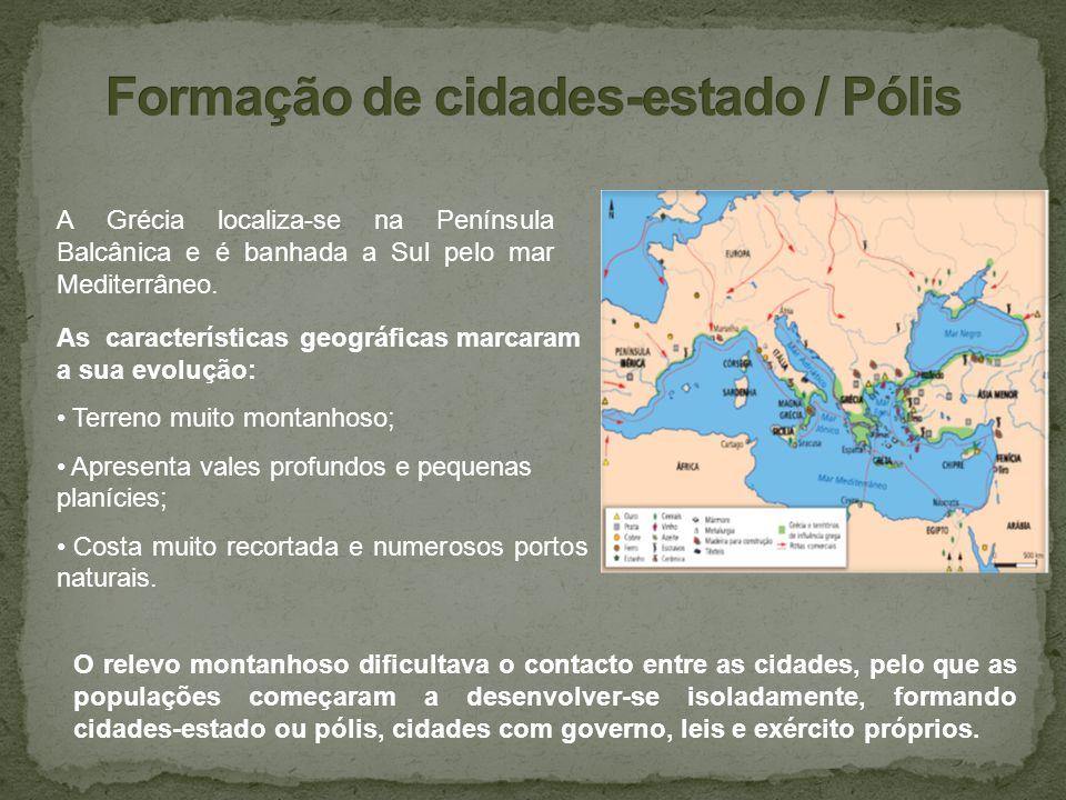 Formação de cidades-estado / Pólis