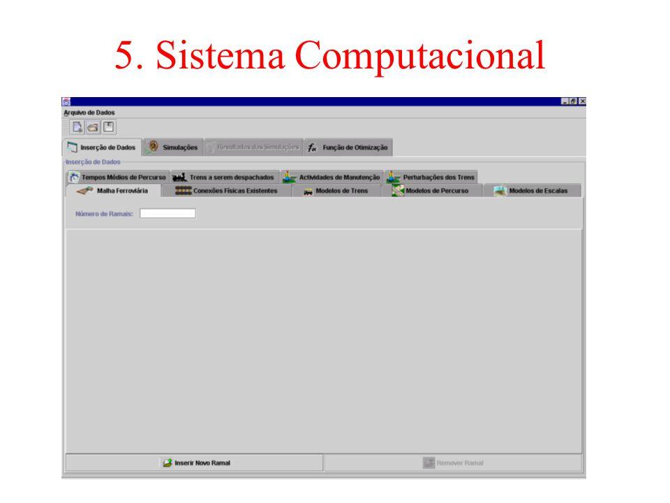 5. Sistema Computacional