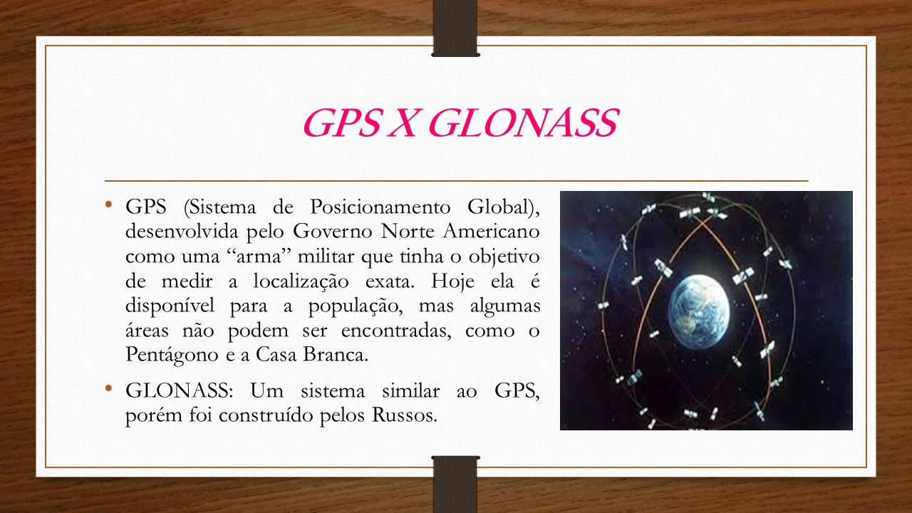 GPS X GLONASS