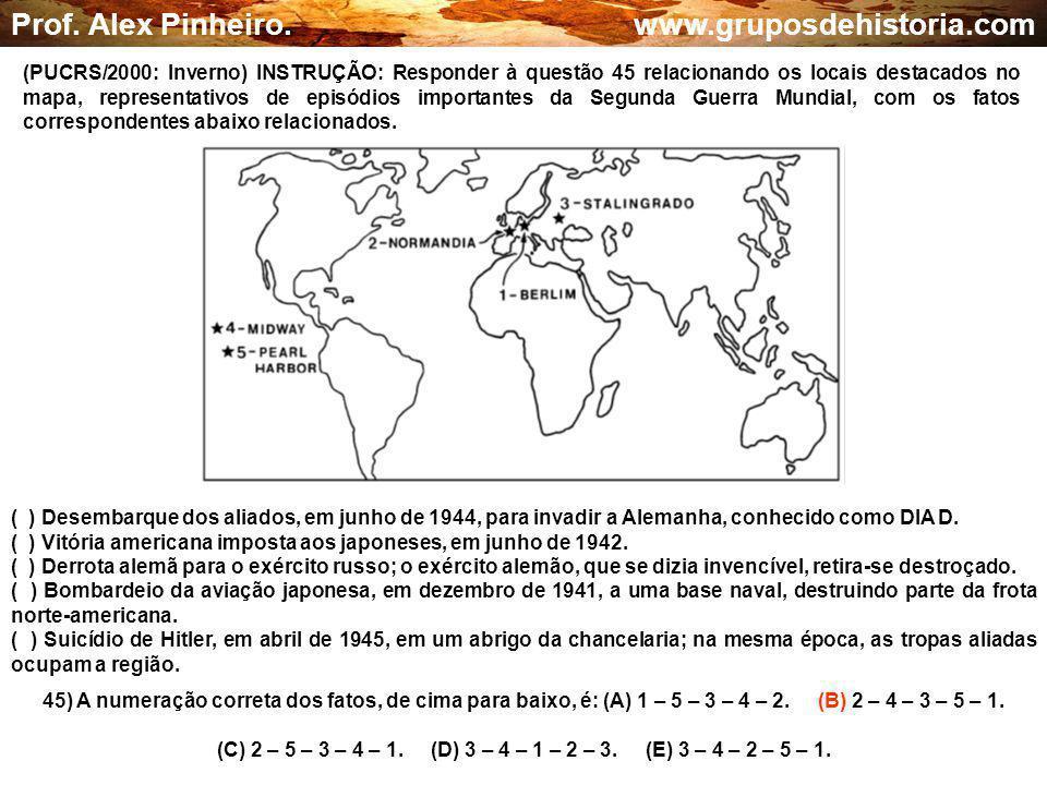 (C) 2 – 5 – 3 – 4 – 1. (D) 3 – 4 – 1 – 2 – 3. (E) 3 – 4 – 2 – 5 – 1.