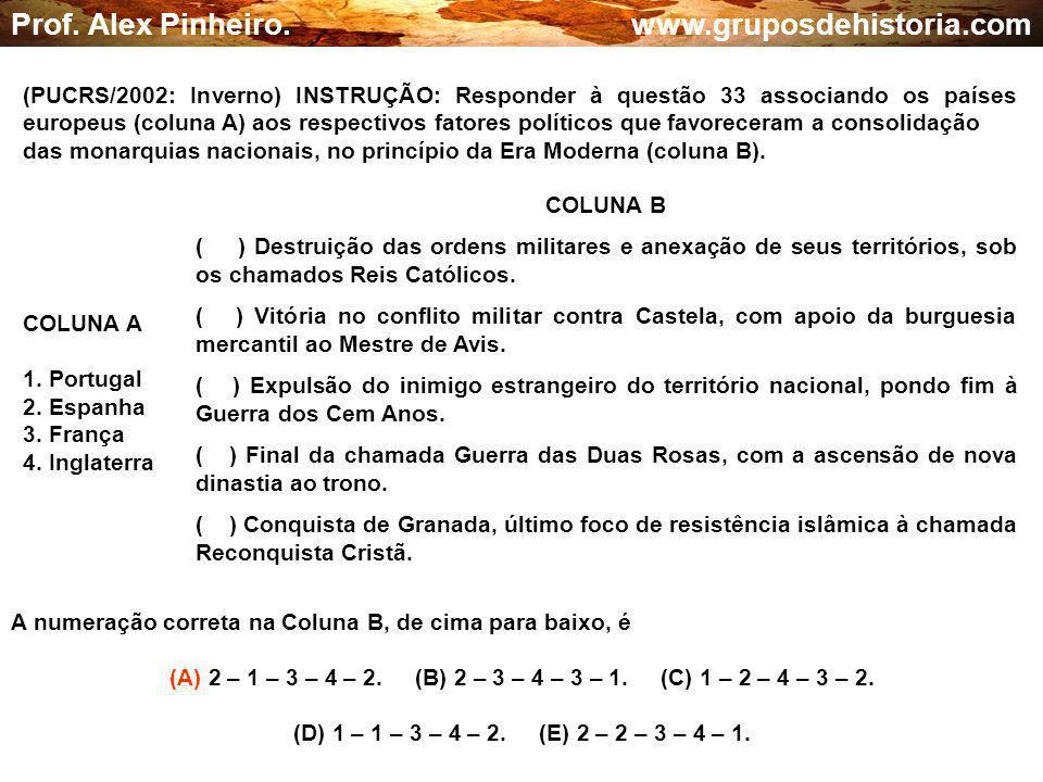 (A) 2 – 1 – 3 – 4 – 2. (B) 2 – 3 – 4 – 3 – 1. (C) 1 – 2 – 4 – 3 – 2.