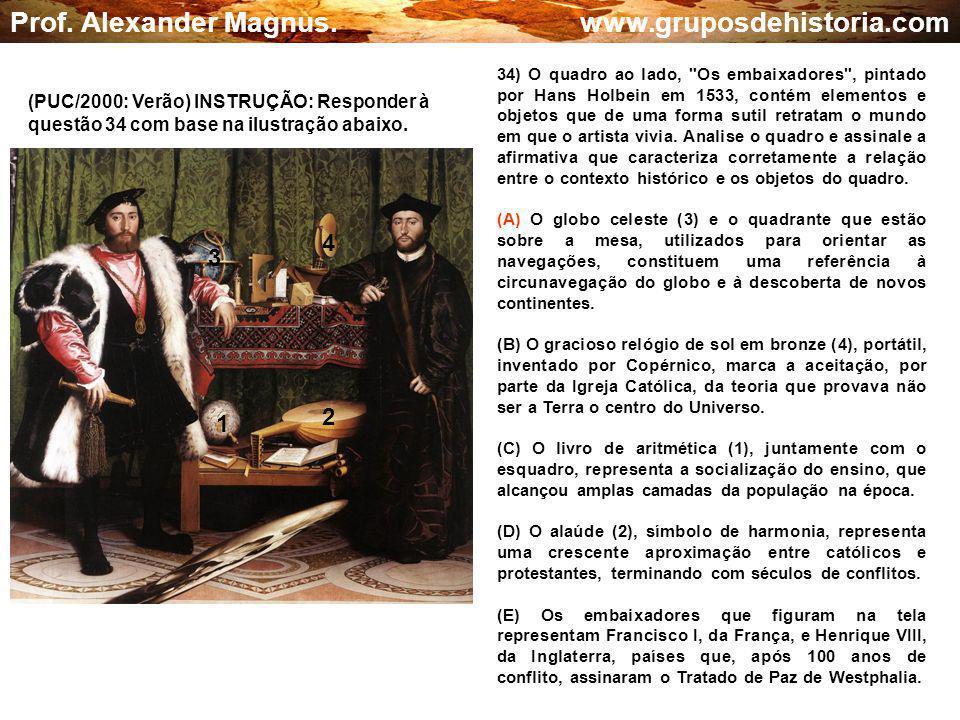 Prof. Alexander Magnus. www.gruposdehistoria.com