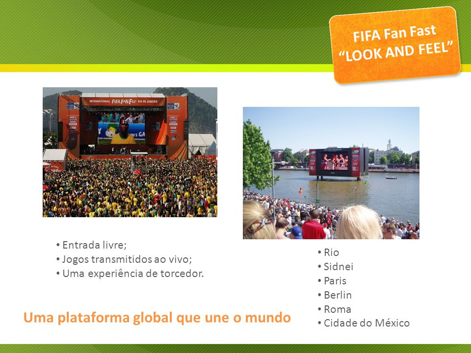 FIFA Fan Fast LOOK AND FEEL