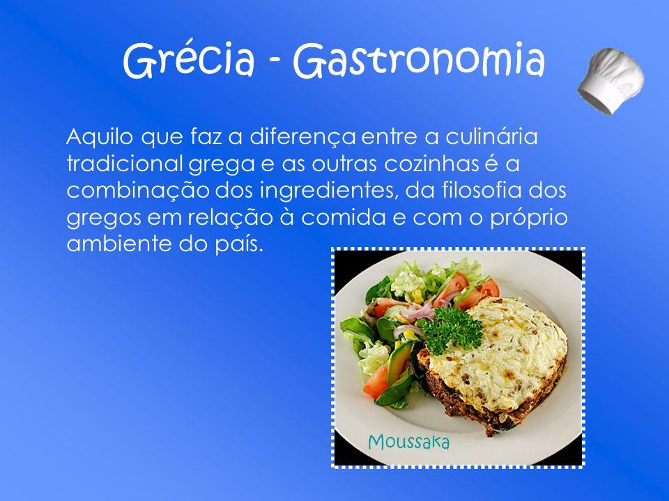 Grécia - Gastronomia