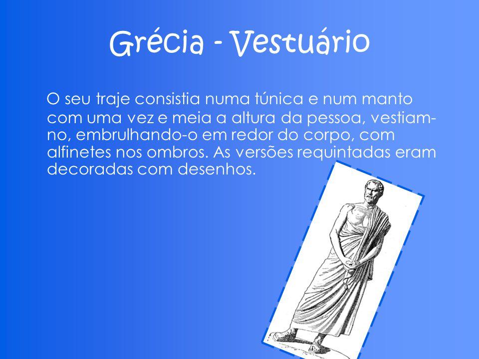 Grécia - Vestuário