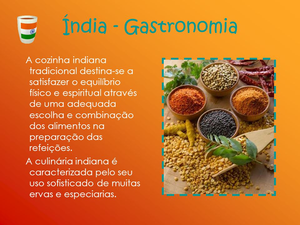 Índia - Gastronomia