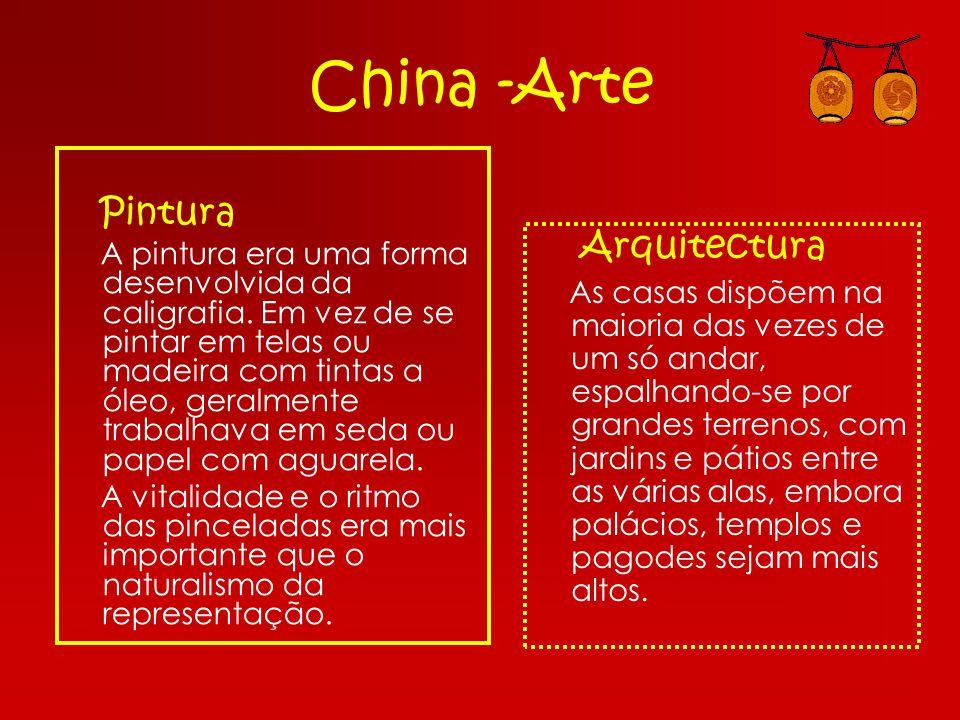 China -Arte Pintura Arquitectura