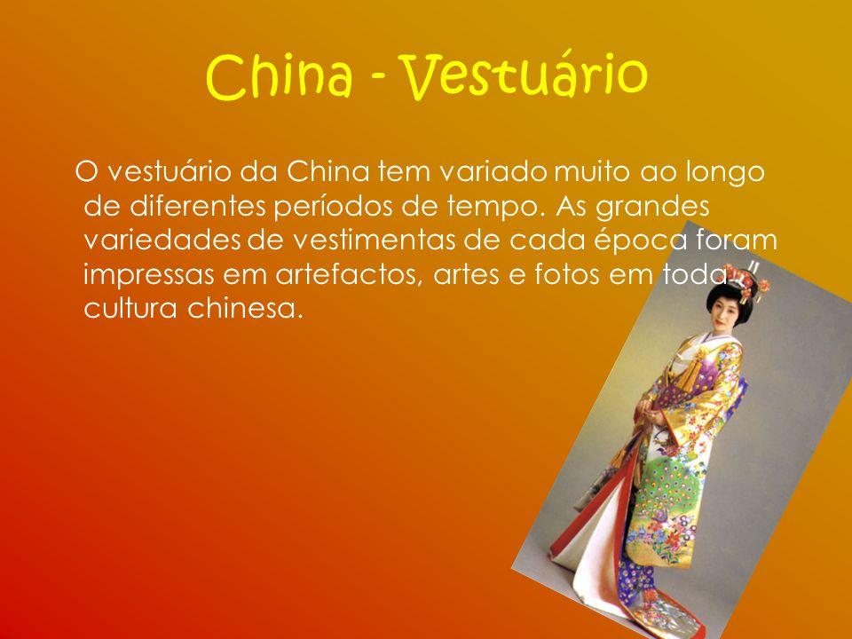 China - Vestuário