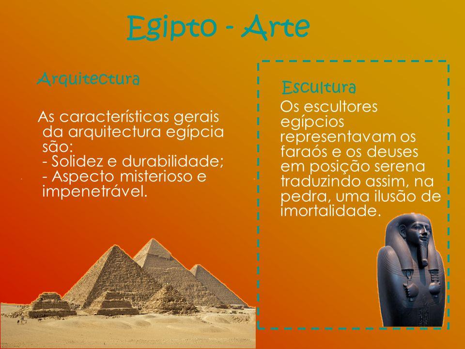 Egipto - Arte Escultura