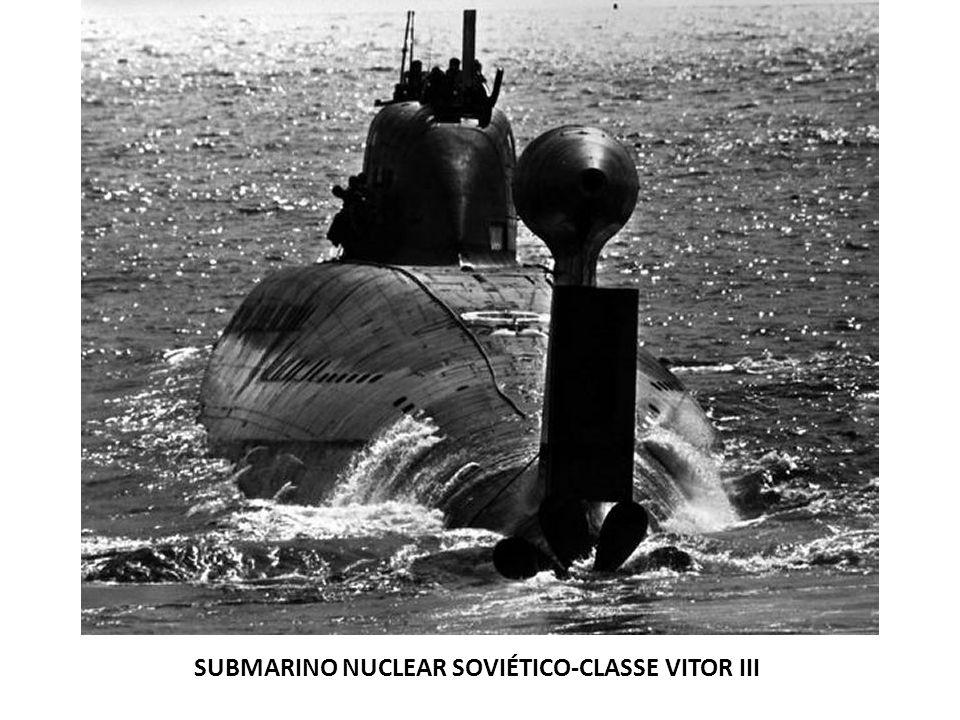 SUBMARINO NUCLEAR SOVIÉTICO-CLASSE VITOR III
