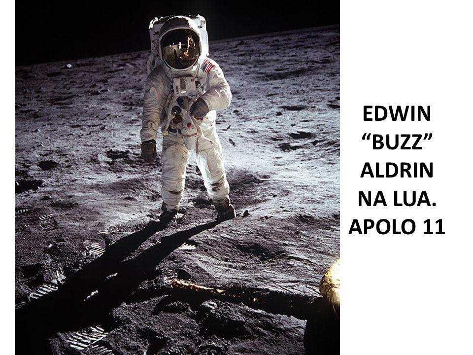 EDWIN BUZZ ALDRIN NA LUA.