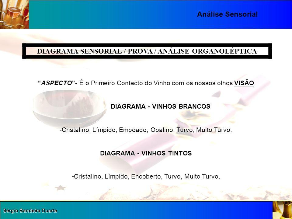 DIAGRAMA SENSORIAL / PROVA / ANÁLISE ORGANOLÉPTICA