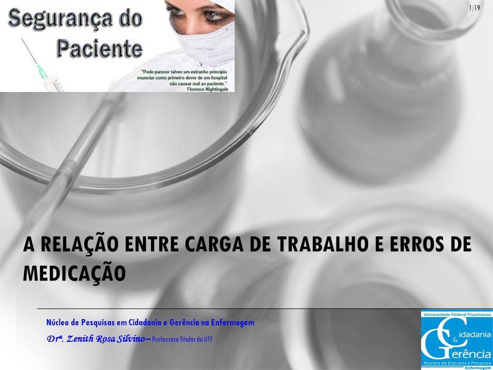 A RELAÇÃO ENTRE CARGA DE TRABALHO E ERROS DE MEDICAÇÃO