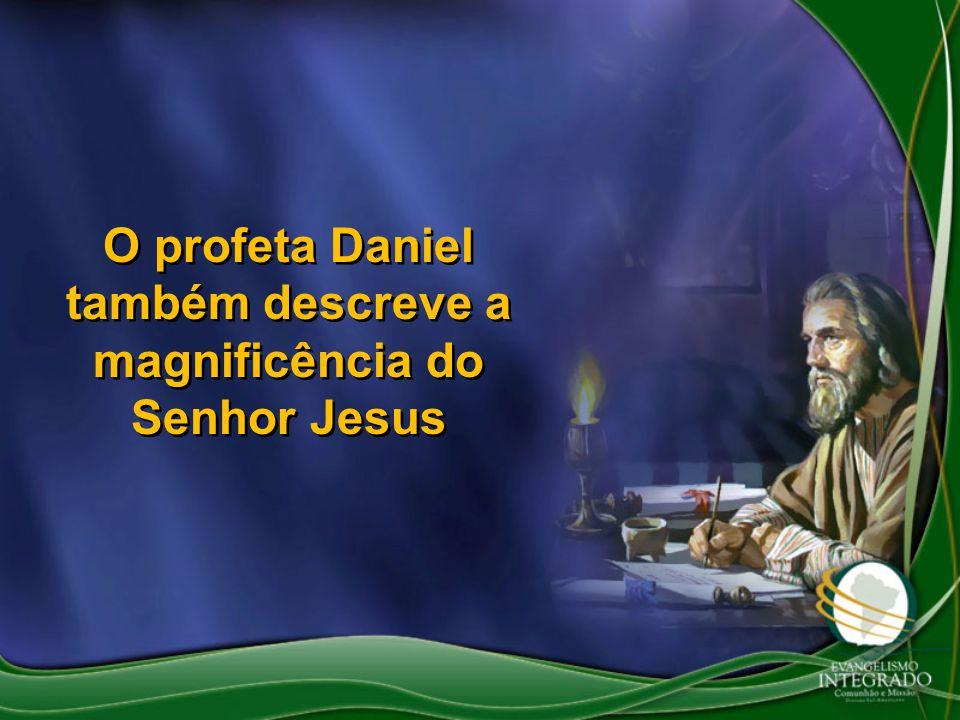 O profeta Daniel também descreve a magnificência do Senhor Jesus
